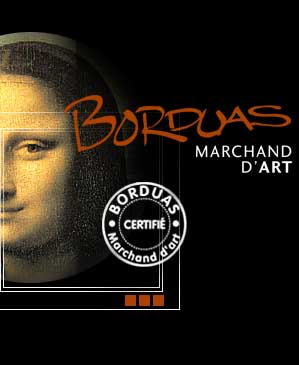 Borduas, Marchard d'Art - Logo