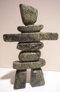 Inukshuk - * Art inuït /Inuit Art